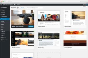 sito sviluppato con WordPress a Olbia